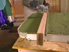 DIYNetwork.com remodeling expert Paul Ryan shows how to build and install a custom designed concrete countertop.