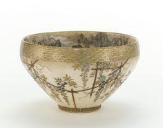 Japanese Art | Temmoku-shape tea bowl | F1997.5a-b
