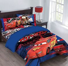 Disney Cars Nitroade Twin Bedding Comforter Set >>> To view further for this item, visit the image link.