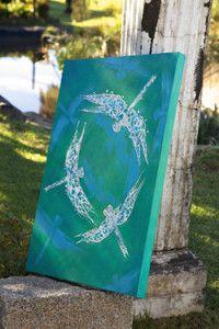 Creative Company   Fast Art – 'Skeeter' hawk Creative Company, Craft Projects, Crafty, Wall Art
