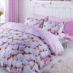 Luxury Bedding Sets On Sale Double Bedding Sets, Duvet Sets, Duvet Cover Sets, Double Duvet, Cot Bed Duvet Cover, Cute Duvet Covers, Pink Bedroom For Girls, Pink Bedrooms, Buy Bed