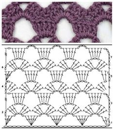 Pic Crocheting Stitches symbols Strategies Crochet stitch – – You can find Symbols and more on our.Most current Pic Crocheting Stitches symbols Strategies Crochet stitch – – You can find Symbols and more on our. Crochet Skirt Pattern, Crochet Motifs, Crochet Diagram, Crochet Stitches Patterns, Crochet Chart, Knitting Stitches, Stitch Patterns, Knitting Patterns, Crochet Shell Stitch