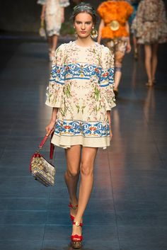Dolce & Gabbana | Spring 2014 Ready-to-Wear Collection | Style.com