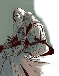 Dark Souls - Firekeeper by Petitecreme on DeviantArt My Fantasy World, High Fantasy, Fantasy Art, Dark Souls Characters, Fantasy Characters, Dark Souls Fire Keeper, Soul Saga, Character Art, Character Design