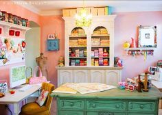 Imaginative Craft Rooms from Around the Web | Apartment Therapy