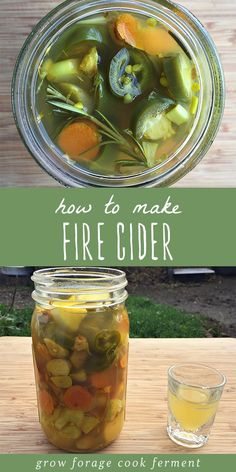Fire cider is an immune boosting healthy tonic, and it's super easy to make! Fire cider is great for boosting immunity, improving circulation, and com Natural Home Remedies, Natural Healing, Herbal Remedies, Health Remedies, Natural Oil, Healing Herbs, Natural Beauty, Cough Remedies For Adults, Cooking With Turmeric