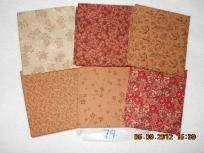 12 Premium Quilting Fabric Fat Quarters - New -Shipping Included Lot 79 Cheapest prices ever
