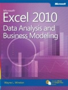 Excel 2010 – Data Analysis and Business Modelling pdf download ==> http://www.aazea.com/book/excel-2010-data-analysis-and-business-modelling/
