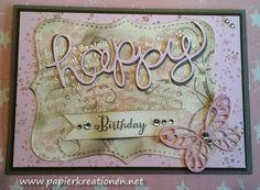 Papierkreationen.net Happy Birthday, Stampin Up