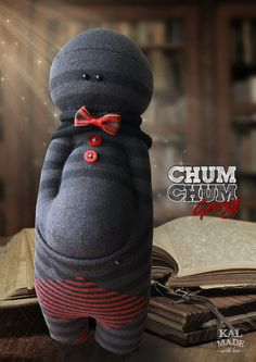 Sock Doll CHUM CHUM -- George