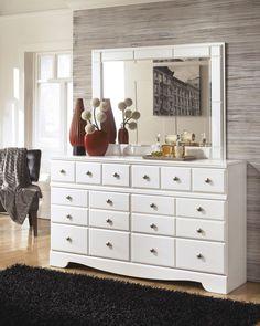 Weeki Dresser & Mirror