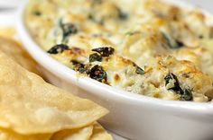 Crab, Spinach, and Artichoke Dip
