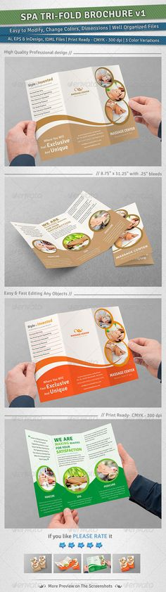 """Spa Tri-Fold Brochure 