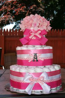 Delightful Desserts: Diaper Cakes