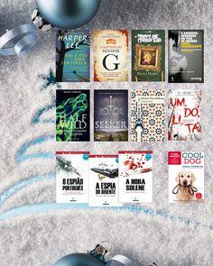 Livros e marcadores: Grande Passatempo de Natal