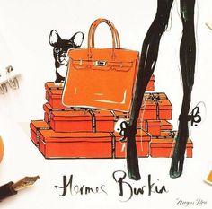 Hermes; Megan Hess