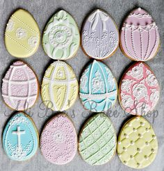 easter egg cookies.. amazing.