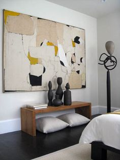 Ideas For Modern Art Abstract Painting Originals Contemporary Abstract Art, Modern Artwork, Large Artwork, Contemporary Interior, Interior Inspiration, Color Inspiration, Travel Inspiration, Decoration, Interior Design