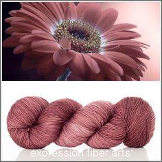 Beautiful DUSK Resilient sock yarn - superwash merino wool in a versatile 400yd per skein fingering weight