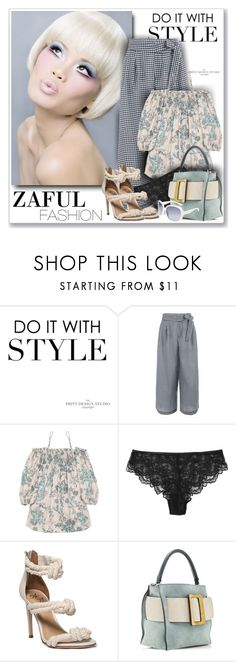 """Zaful Fashion106"" by sneky ❤ liked on Polyvore featuring polyvoreeditoria and zaful"