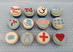 Resultado de imagem para cupcakes para médicos - pinterest