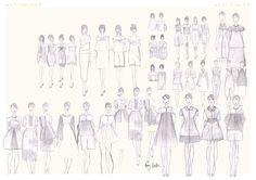Chloe Design Development #alotlikeamy #designportfolio #fashiondesign #cad #illustration