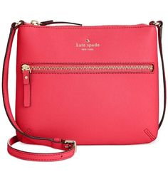 New Kate Spade York Cedar Street Tenley Crossbody 178 Flo Geranium Bag Ebay Leather