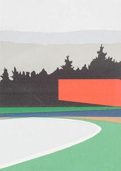 Entrar Roja, 2014, por Brian Alfred