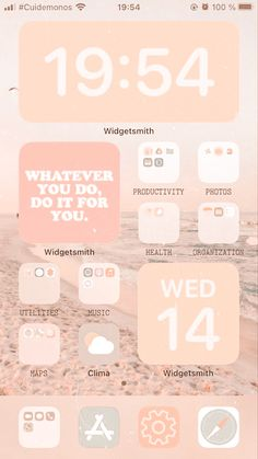 Iphone App Design, Iphone App Layout, Iphone Wallpaper Ios, Iphone Wallpaper Tumblr Aesthetic, Cute Home Screens, Icones Do Iphone, Iphone Home Screen Layout, Phone Logo, Aesthetic Phone Case