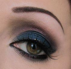 ...Vanity is not a crime...: Makeup Tutorial: Fiori d'Ombra (neve makeup)