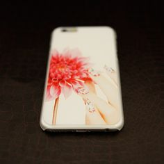 Artistic Lady #Red #Flower iPhone 6 #Relief #Slim Case - Fashion9shop.com