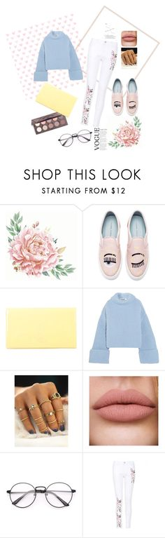 """A day without laughter is a day wasted"" by lada15-99 on Polyvore featuring Chiara Ferragni, Yves Saint Laurent and Jil Sander"