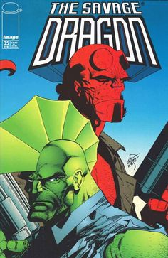 "90scomiccovers: ""The Savage Dragon 35, February 1997 """