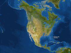 Así sería el mundo si todo el hielo de la Tierra se derritiese