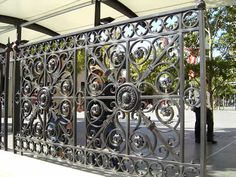 Ironbark Blacksmithing heritage re-productions of original wrought iron panels meeting another challenging wrought iron project