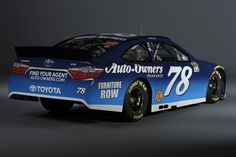 #78 Martin Truex Jr. photo shoot with Auto-Owners Insurance and Furniture Row Racing.