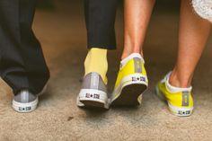 Bride & Groom Converse Shoes