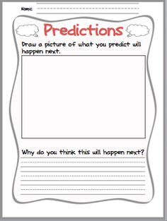 Making Predictions (perfect for chapter books!)