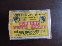 Antiga Caixinha Fósforo Guarany Andrade-latorre