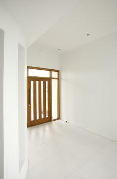 Inside view of this striking front door.