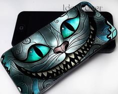 cheshire cat smile alice in wonderland case For iphone