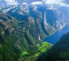 Norweigen fjords