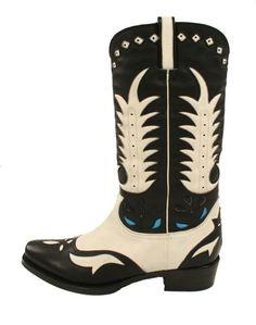 Ralph Lauren Western Leather Carson Boots.