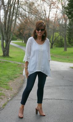 Spring Style: White and denim
