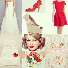 Red wedding ❀❀❀  ADD #diy http://www.customweddingprintables.com