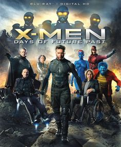 The ultimate X-Men ensemble fights a war for the survival of the species across two time periods.  Sci-Fi/Action, Rated PG-13, 131 min.  http://ccsp.ent.sirsi.net/client/hppl/search/results?qu=days+future+past+jackman&te=&lm=HPLIBRARY&dt=list