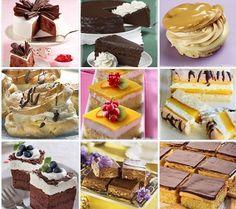 Množstvo skvelých receptov na zákusky, torty, rezy, a iné sladké dobroty zo stránky NAJLEPŠIE pozbierané RECEPTY...