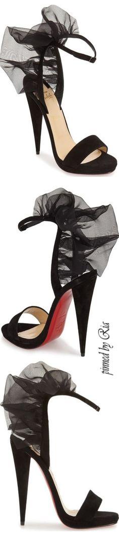Christian Louboutin ~ `Jacqueline` Sandal l Ria