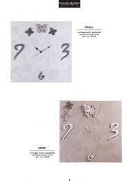 Orologi d'arredo realizzati artigianalmente.