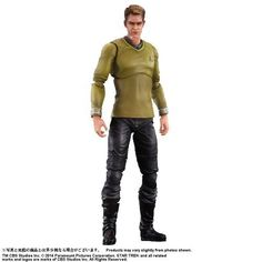 All About The Star Trek 2009 Cast read about Chris Pine as James T. Kirk and Zachary Quinto as Spock. Get signed photos Chris Pine & Zachary Quinto. James T Kirk, Star Trek 2009 Cast, Pvc Paint, Zachary Quinto, Chris Pine, Kai, Action Figures, It Cast, Leather Jacket